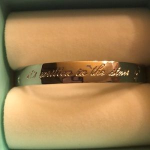 Kate Spade Idiom Bangle Written in the Stars